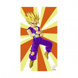 tee shirt gangnam vegeta dragon ball