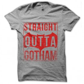 tee shirt straight outta gotham