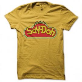 tee shirt playdoo simpsons homer
