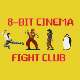 tee shirt fight club 8 bits rare