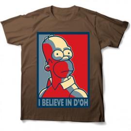 tee shirt homer doo simpson mixtes tous les ages