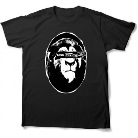 tee shirt long live the king toutes tailles