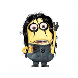 tee shirt alice cooper version minions