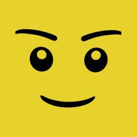 tee shirt face de lego