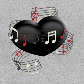 body coeur musique pour bebe