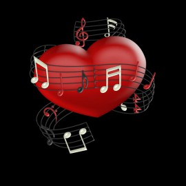 grenouillere coeur musical pour bebe