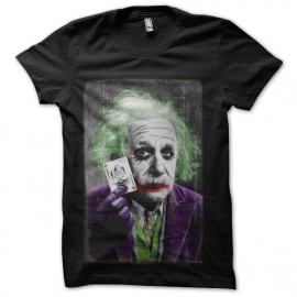 tee shirt joker albert heinstein