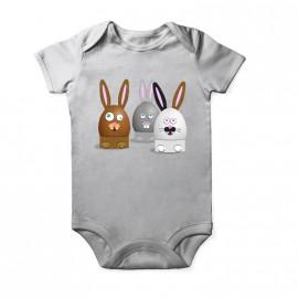 Body lapin crétin pour pâque enfant pour bebe