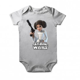Body princesse Leila star wars pour enfant pour bebe