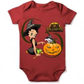 grenouillere betty boop halloween pour bebe