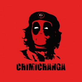 tee shirt chimichanga che guevara deadpool