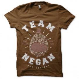 tee shirt walking dead team negan