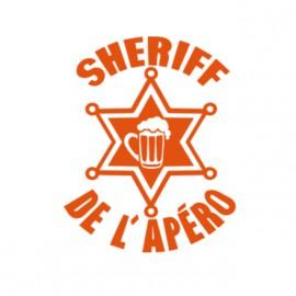 body sheriff de lapero pour bebe