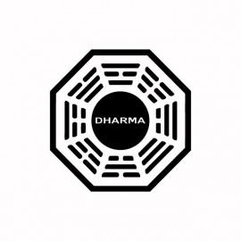 Tee shirt Dharma noir/blanc