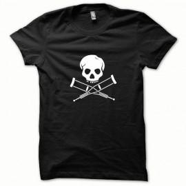 Tee shirt Jackass blanc/noir