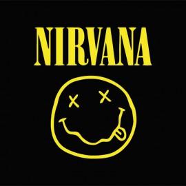 Tee shirt Nirvana jaune/noir