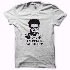 Tee shirt Fight Club in tyler we trust noir/blanc mixtes tous ages