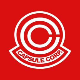 Tee shirt Capsule Corp blanc/rouge