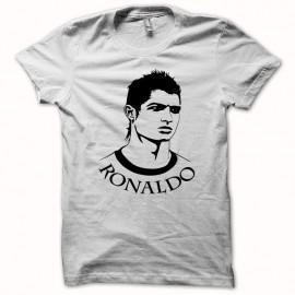 Tee shirt Cristiano Ronaldo lui même dos Santos Aveiro noir/blanc mixtes tous ages