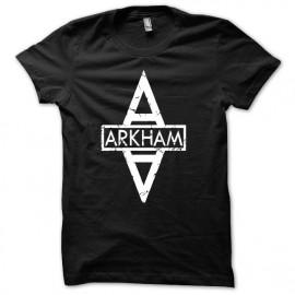 Tee shirt  Gotham City arkham noir mixtes tous ages