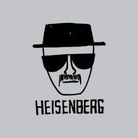 Tee shirt Breaking bad Heisenberg noir/gris