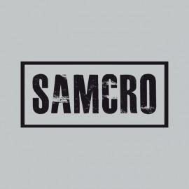 Tee shirt Sons Of Anarchy SAMCRO noir/gris
