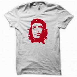 Tee shirt CHE Guevara blanc mixtes tous ages