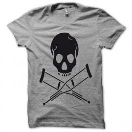 Tee shirt Jackass noir/gris