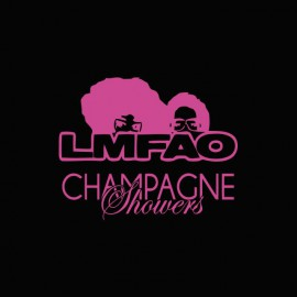 Tee shirt LMFAO Champagne shower noir