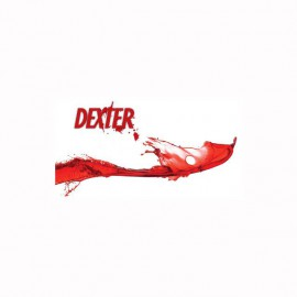 Tee shirt Dexter blood logo blanc