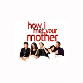Tee shirt How i met your mother bed blanc