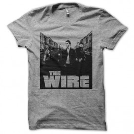 Tee shirt The Wire street gris