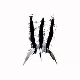 Tee shirt Wolverine griffes noir/blanc