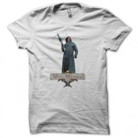 Tee shirt Van Helsing blanc mixtes tous ages