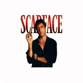 Tee shirt Scarface affiche noir/blanc