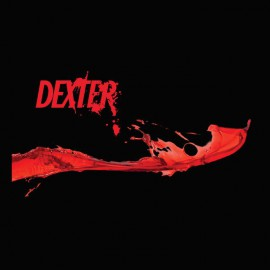 Tee shirt Dexter blood logo noir