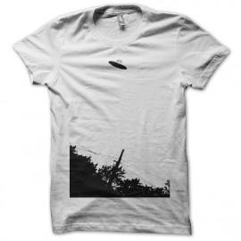 Tee shirt  OVNI photo oldies blanc mixtes tous ages