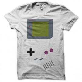 Tee shirt Game Boy parodie blanc mixtes tous ages