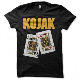 Tee shirt Poker King Jack-Ass pair Kojak noir