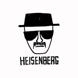 Tee shirt Breaking bad Heisenberg noir/blanc