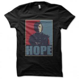 Tee shirt Tyrion Lannister parodie Obama noir mixtes tous ages