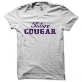 Tee shirt Future Cougar blanc