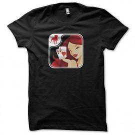 Tee shirt Texas HoldEm Poker noir