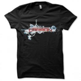 Tee shirt NSF Carbon logo noir mixtes tous ages
