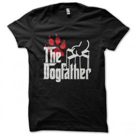 Tee shirt Dogfather parodie Godfather noir mixtes tous ages