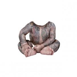 Tee shirt Evian parodie Bébé Yakuza blanc