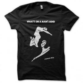Tee shirt Sigmund Freud Man's Mind noir mixtes tous ages