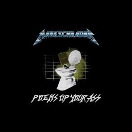 Tee shirt Hank Schrader parodie Metallica noir