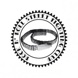 Rock N' Roll Street Fighting Club - Tee Shirt Triplex / transmission chain belt chaine White/Blanc