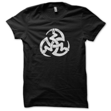 Tee shirt Vampire symbole 3 serpents noir